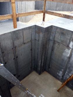 Toronysiló alapok készítése, terménytároló alap, szellőzővel