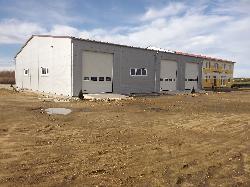 Inkubátorház kivitelezés, ipari beruházás