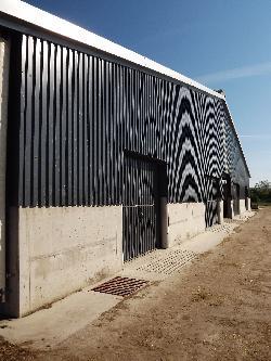 340 férőhelyes pihenőboxos tejelőmarhaistálló